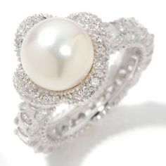 Never thought I would see a pearl wedding ring that actually worked ...