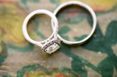 Love this old fashioned ring. DIY Wedding Ideas | Wedding Blog | Used Wedding Dresses | Once Wed