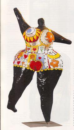 niki de saint phalle figure