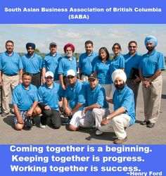 """""""Networking, Interaction, Image and Community Involvement"""" –  The four milestones of the South Asian Business Association of British Columbia www.sababc.ca"""