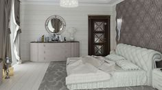 Дизайн интерьера современного дома в стиле неоклассика | http://edesign.net.ua/design-interyera-doma-340m2.html