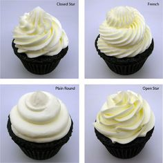 cupcake frosting tutorial. because mine always looks like a child did them.