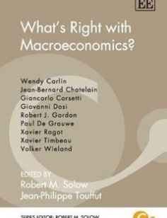 What's Right with Macroeconomics? free download by Robert M. Solow Jean-Philippe Touffut ISBN: 9781781007396 with BooksBob. Fast and free eBooks download.  The post What's Right with Macroeconomics? Free Download appeared first on Booksbob.com.