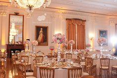jaclyn and michael   yorba linda wedding   richard nixon library & museum wedding   reception details