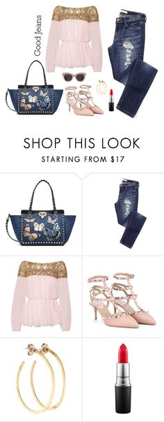 """""""Distress"""" by humblechick1 on Polyvore featuring Valentino, Marchesa, Jill Platner, MAC Cosmetics, women's clothing, women, female, woman, misses and juniors"""