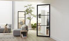 Skantrae SlimSeries Oversized Mirror, Doors, House, Furniture, Beautiful, Moodboards, Gamma, Home Decor, Decoration Home