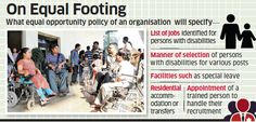 Right of Persons with Disabilities Act: Come April differently-abled may get equal opportunity to work - The Economic Times