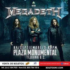 Quiénes andan ya en la fila para Megadeth? Compártanos sus fotos!