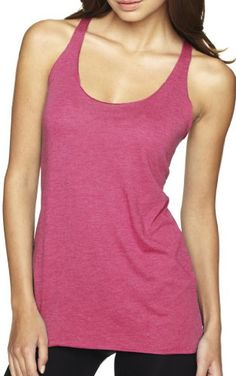 Yoga Clothing For You Ladies Tri-Blend Racerback Tank Top, Small Vintage Pink *** Be sure to check out this awesome product.