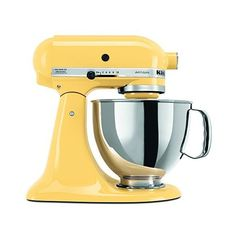 KitchenAid KSM150PSMY Artisan Series 5-Qt. Stand Mixer with Pouring... (€225) ❤ liked on Polyvore featuring home, kitchen & dining and kitchenaid