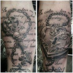 Vorlagen partner tattoos Tattoo Fonts