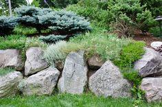 Each Little World: Stone in the garden