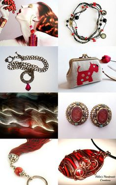 Red Summer ! by riagr on Etsy--Pinned with TreasuryPin.com