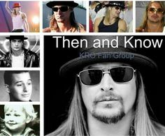 Kid rock then and know Kid Rock Picture, Rock Concert, Group Photos, Just Kidding, Music Stuff, Concerts, Rock N Roll, Bobby, Bands