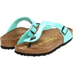 Fe's going to make fun of me since these are birkenstocks, but they're cute!
