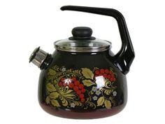 Купить Чайник 3л со свистком Рябина только в Kuhovka.ru | Интернет-магазин «Куховка»