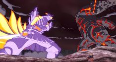 #Kurama + #Susanoo - -Boruto Naruto The Movie ^^