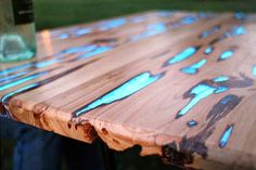 The Real Design Inspiration: This Beautiful Table Actually Starts To Glow As The Sun Goes Down