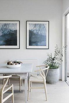 serene dining room