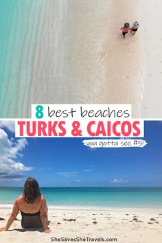 Planning a Caribbean getaway to Turks and Caicos? This island chaing is incredibly beautiful. Check out the top beaches on your Turks and Caicos vacaion. | Caribbean Vacation | Turks and Caicos Beaches | Things to Do in Turks and Caicos | Providenciales Best Travel Sites, Top Travel Destinations, Travel Tours, Travel Guides, Beach Trip, Vacation Trips, Beach Travel, Vacation Ideas, Honeymoon Places