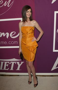 Anne Hathaway Photo - Variety's 1st Annual Power of Women Luncheon - Arrivals