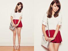 Woa Kao Top, Woa Kao Shorts, Choies Shoes, Morellato Bracelet, Emoda Bag