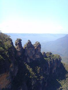 Three Sisters. Katoomba. New South Wales. Australia.
