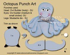 Alex's Creative Corner: Happy Octopus