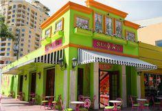 Sloan's Ice Cream on Clematis Street (West Palm Beach, Florida)