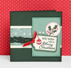 A link to great holiday #DIY card ideas from #CTMH!