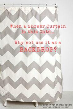 Shower Curtain Backdrop -  Go4Pro Photos