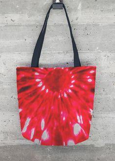 VIDA Tote Bag - red hibiscus tote by VIDA hhx3oEkW5