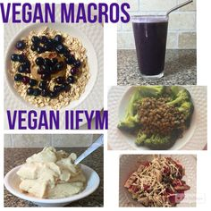 Vegan Macros - Full Day of Eating Vegan IIFYM #12 -HollyBrownFit.com