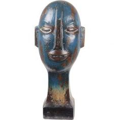 Accessorize your traditional home in an artistic way with the Privilege International Rustic Ceramic Head Sculpture . This ceramic statue features the. Rustic Ceramics, Joss And Main, Decorative Objects, Home Decor Accessories, 5 D, Color Pop, Sculptures, Sculpture Ideas, Museum