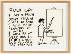 Juxtapoz Magazine - Juxtapoz x Superflat: David Shrigley