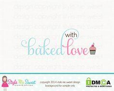 cupcake logo design bakery logo design by stylemesweetdesign