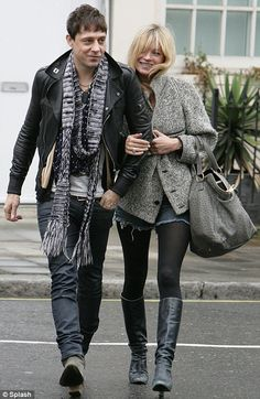 Jamie Hince. He married Kate Moss. Enough said.
