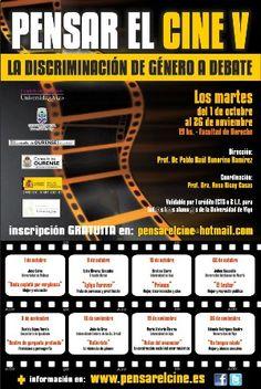 Pensar el cine V: La discriminación de género a debate @ Facultade de Dereito - Ourense cine cinema audiovisual