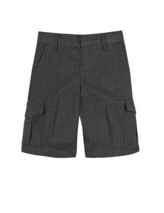Boys' Crease Resistant Stain Resistance™ Cargo Shorts with Triple…