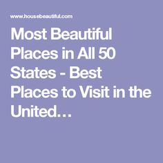 50 States Us States And Places On Pinterest
