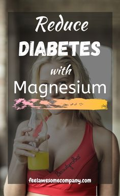 Magnesium is a key factor in the efficient metabolism of carbohydrates and has a direct impact on the release of insulin and its use in the body. This, in turn, affects the control of blood glucose levels. A person's risk of adult onset diabetes can be decreased by fifteen percent by adding just 100 mg of magnesium to his or her daily diet. #diabetes #magnesium Magnesium Benefits, Health Benefits, Women's Health, Health And Wellness, Mental Health, Brain Nutrition, Glucose Levels, Stay Young, Health And Beauty Tips
