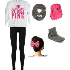 ON WEDNESDAYS WE WEAR PINK>\. - Polyvore