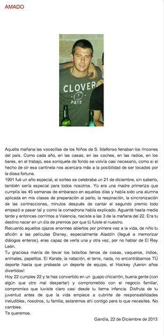 Amado. http://elblogdegemahernandez.blogspot.com.es/