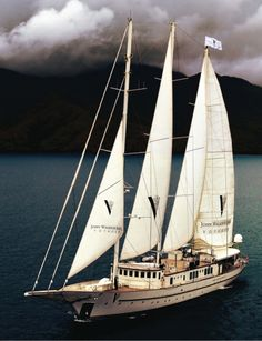 Walker Son Voyager - John Walker Sons targets young millionaires in Asia-Pacific yacht tour Yacht Boat, Sail Away, Super Yachts, Set Sail, Wooden Boats, Tall Ships, Water Crafts, Canoe, Savannah Chat