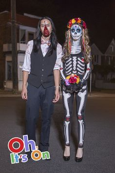 Unique Couples Costumes.Take on fright night in style with incredibly scary Halloween makeup and costumes at Party City.