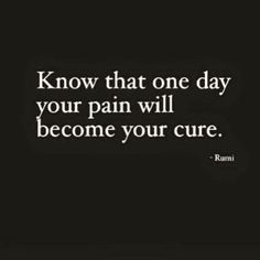 One can surely hope! Pain is a great motivator and eye opener. It prompts us to search for the hidden truths and tear the veil of deception and ignorance.