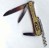fällknivar gästabudsknivar fickknivar
