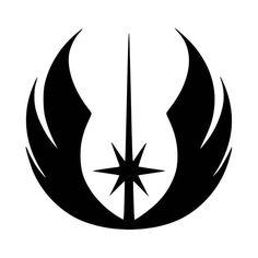 Jedi Logo Vinyl Decal Sticker BallzBeatz . com