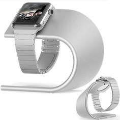 Apple Watch Stand Renoj Apple iWatch Stand Charging Dock Station Sturdy Alumi... #phonewatch