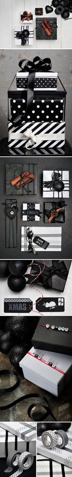 ✂ That's a Wrap ✂ diy ideas for gift packaging and wrapped presents - decorate using tape